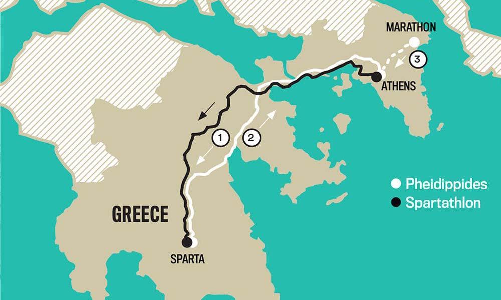 SPARTATHLON – 246KM GRECIA