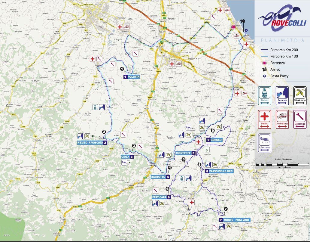 NOVE COLLI RUNNING – 203 KM ITALIA