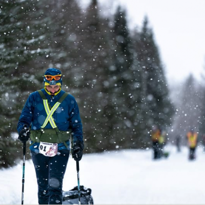 L'ultramaratoneta Simone Leo pronto a sfidare il clima polare